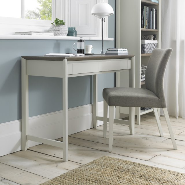 Premier Collection Bergen Grey Washed Oak & Soft Grey Desk