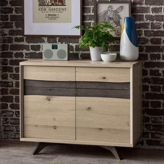 Premier Collection Cadell Aged Oak Narrow Sideboard