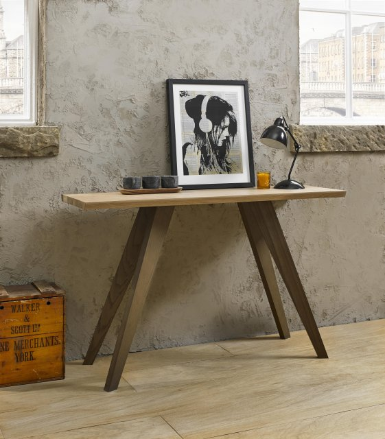 Premier Collection Cadell Aged Oak Console Table