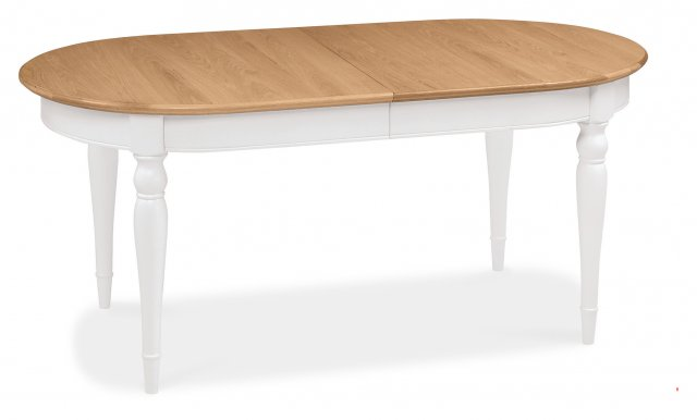 Premier Collection Hampstead Two Tone 6-8 Extension Dining Table