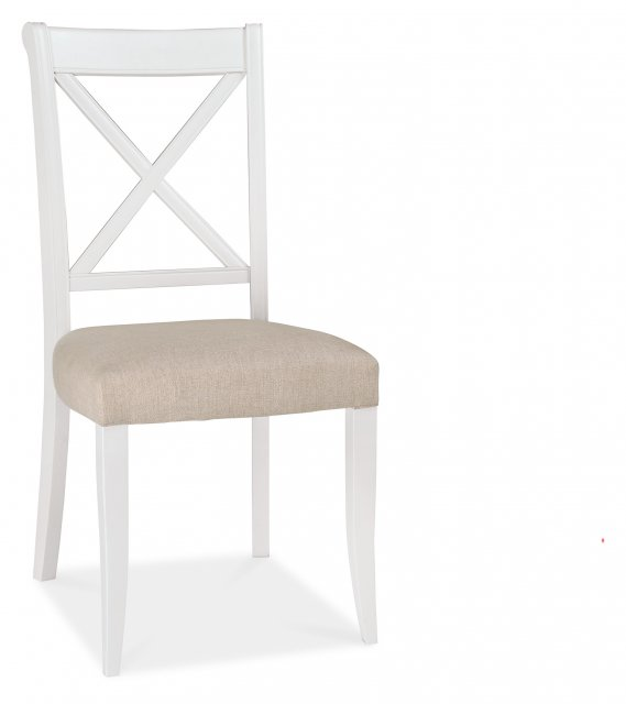 Premier Collection Hampstead Two Tone X Back Chair (Pair)