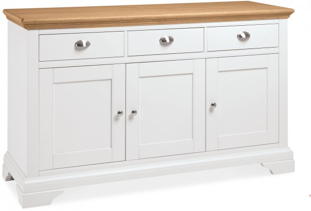 Premier Collection Hampstead Two Tone Wide Sideboard