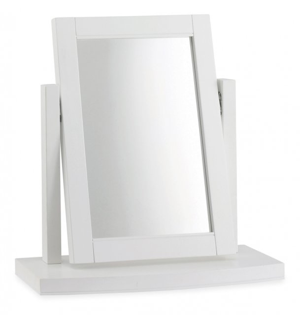 Premier Collection Hampstead White Vanity Mirror