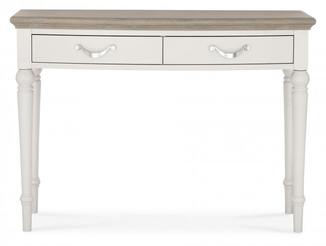 Premier Collection Montreux Grey Washed Oak & Soft Grey Dressing Table