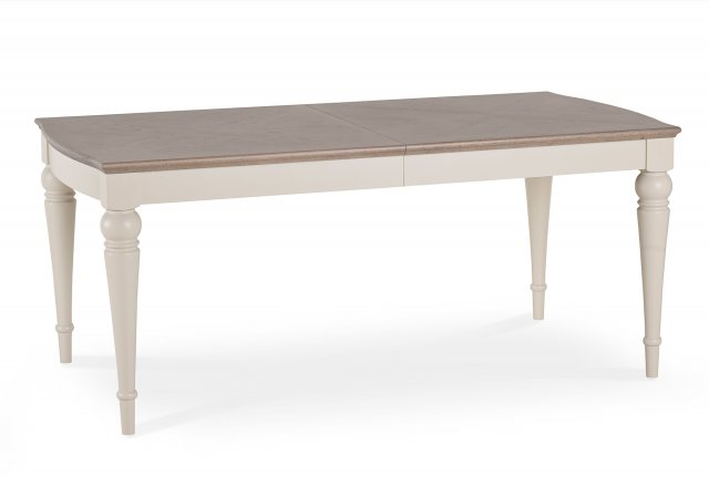 Premier Collection Montreux Grey Washed Oak & Soft Grey 6-8 Extension Table