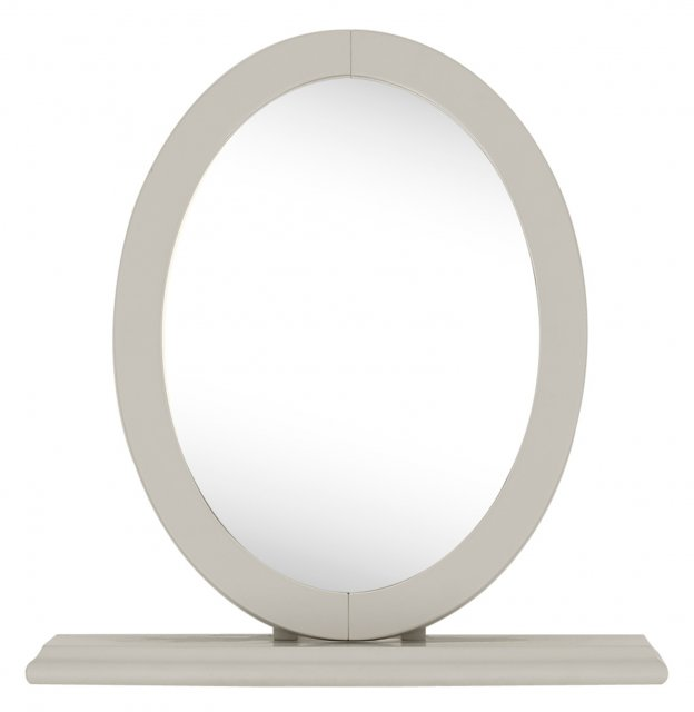 Premier Collection Montreux Urban Grey Vanity Mirror