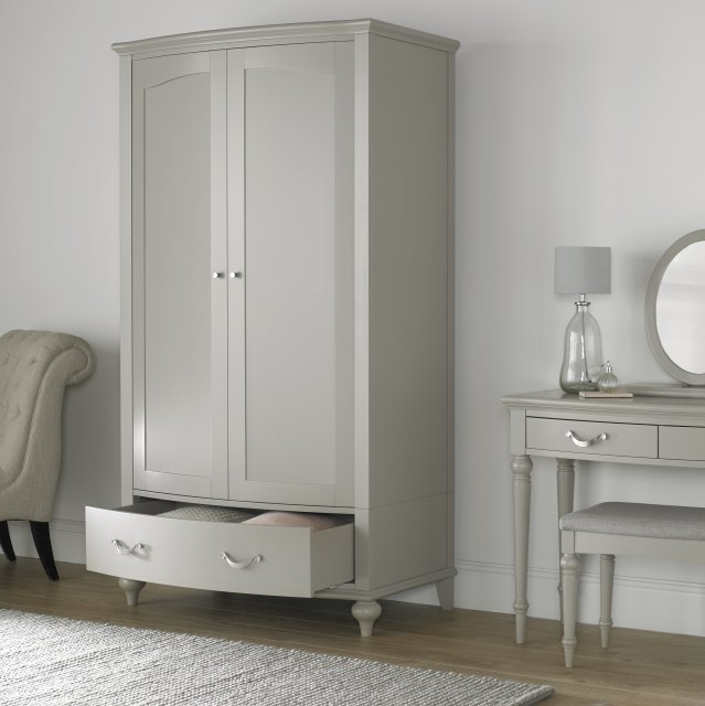 Premier Collection Montreux Urban Grey Double Wardrobe