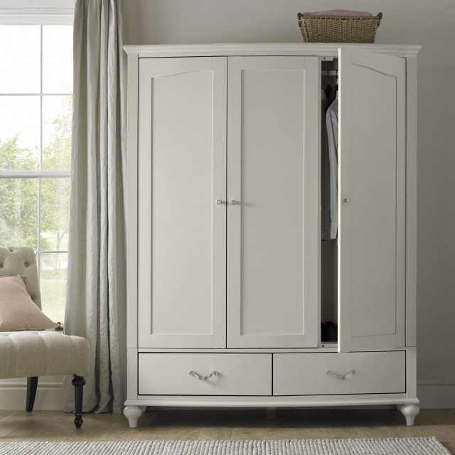 Premier Collection Montreux Urban Grey Triple Wardrobe