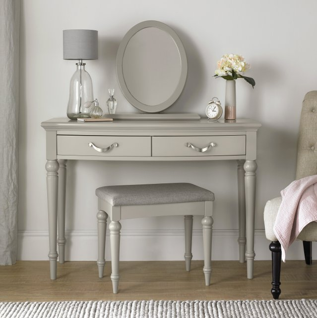 Premier Collection Montreux Urban Grey Dressing Table