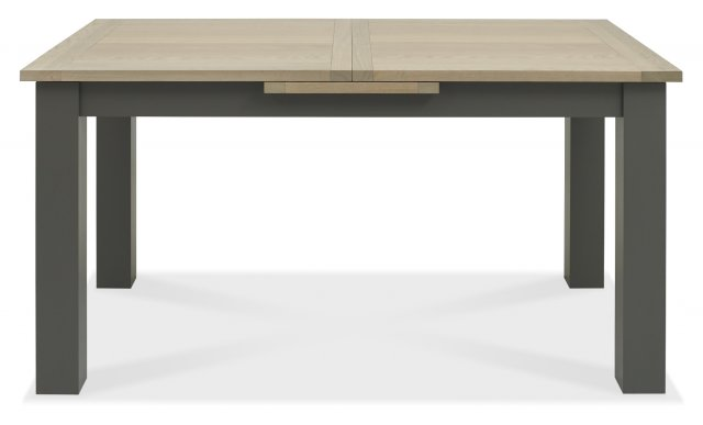 Premier Collection Oakham Dark Grey & Scandi Oak 4-6 Dining Table