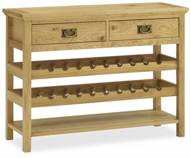 Premier Collection Provence Oak Console Table
