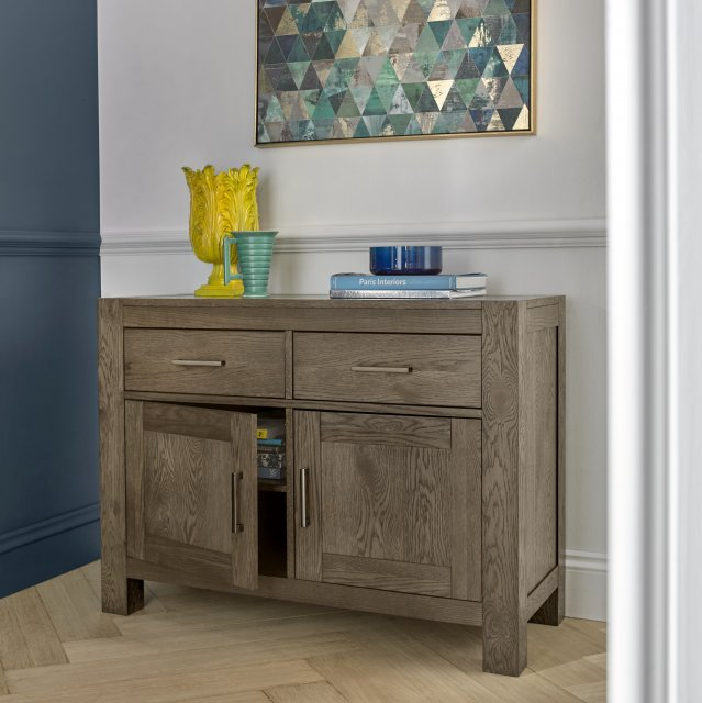 Premier Collection Turin Dark Oak Narrow Sideboard