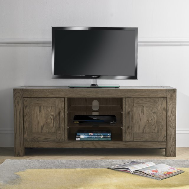 Premier Collection Turin Dark Oak Entertainment Unit