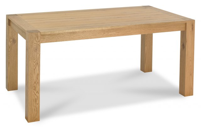 Premier Collection Turin Light Oak 6 Seater Table