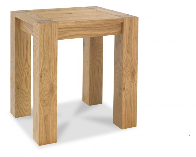 Premier Collection Turin Light Oak Lamp Table