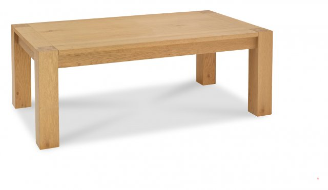 Premier Collection Turin Light Oak Coffee Table