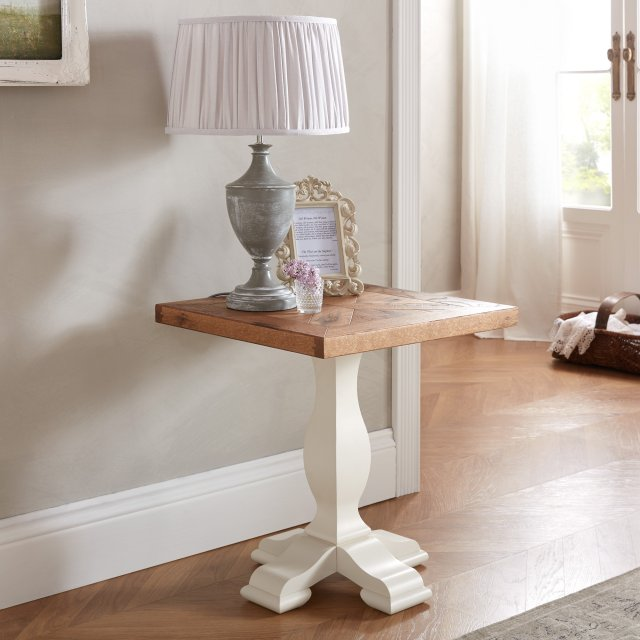 Signature Collection Belgrave Two Tone Lamp Table