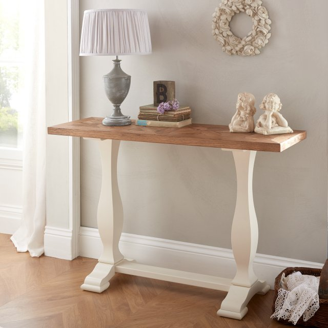 Signature Collection Belgrave Two Tone Console Table