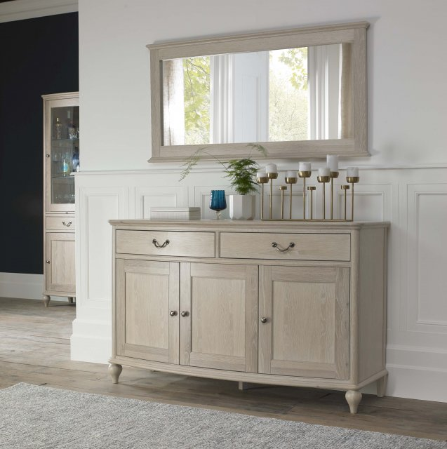 Signature Collection Bordeaux Chalk Oak Wide Sideboard