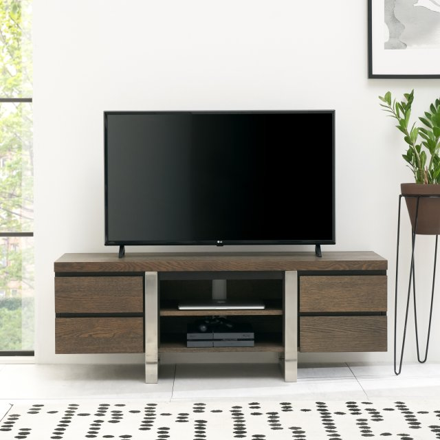 Signature Collection Tivoli Dark Oak Wide Entertainment Unit
