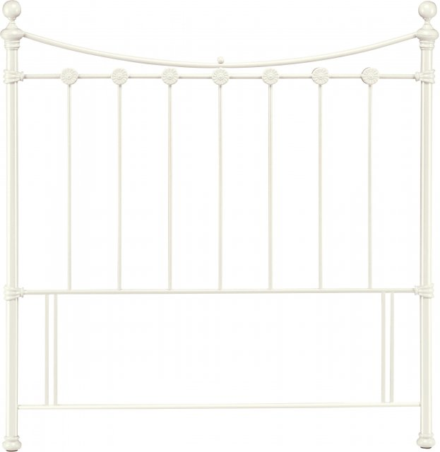 Headboards & Bedsteads Collection Alice Antique White Headboard Double 135cm