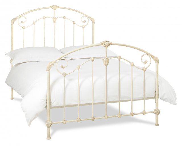 Headboards & Bedsteads Collection Lauren Antique Ivory Bedstead King 150cm