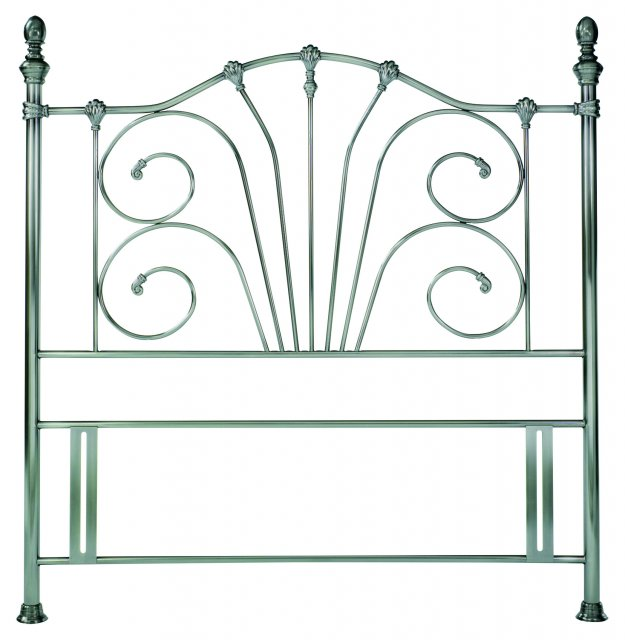 Headboards & Bedsteads Collection Rebecca Antique Brass Headboard King 150cm