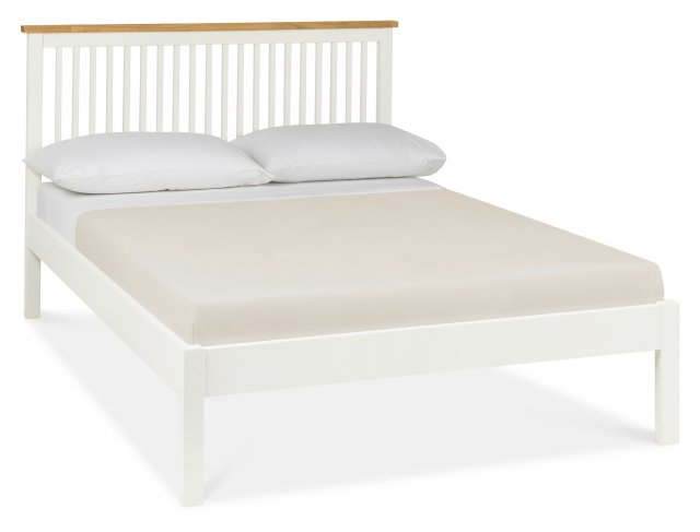 Gallery Collection Atlanta Two Tone Low Footend Bedstead Double 135cm