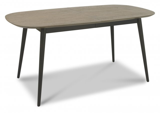 Premier Collection Vintage Weathered Oak 6-8 Extension Table