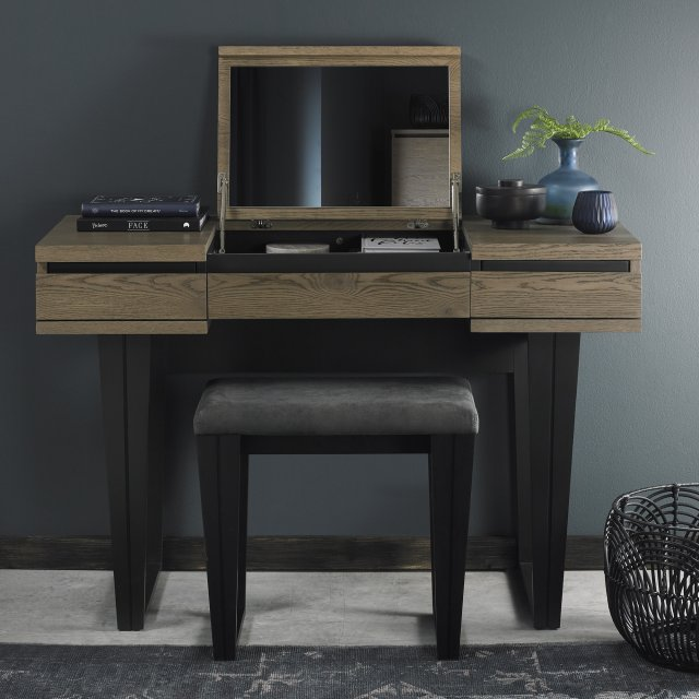 Signature Collection Tivoli Weathered Oak Dressing Table