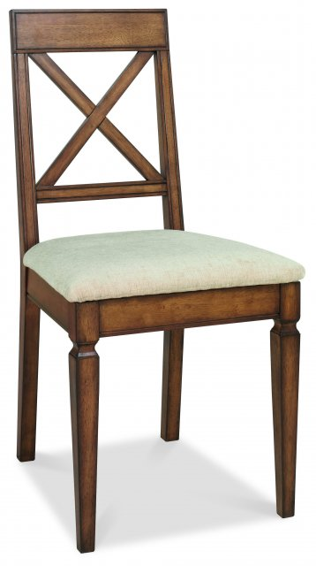 Premier Collection Sophia Oak X Back Chair (Pair)