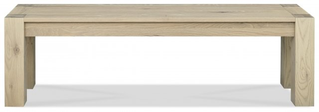 Premier Collection Turin Aged Oak Bench